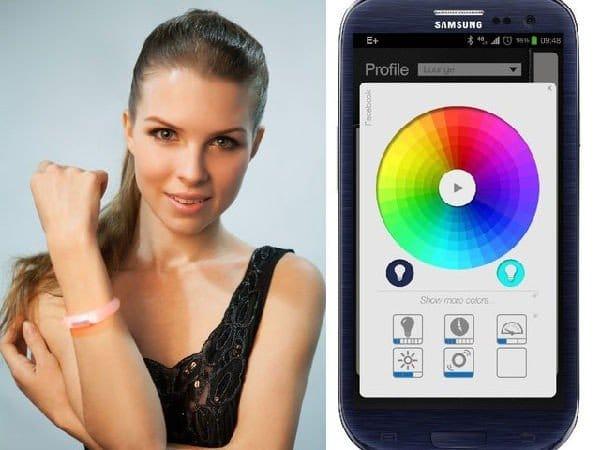 Il braccialetto intelligente per iPhone
