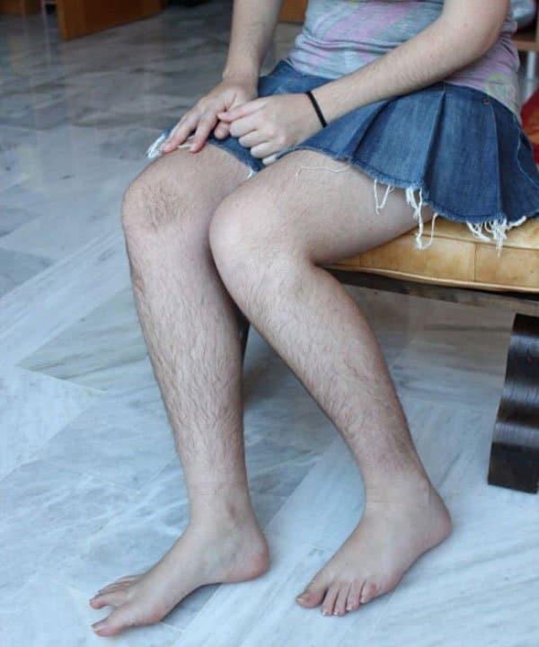 blogger non si depila foto