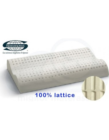 Cuscino cervicale alto in lattice Simmons prezzi in