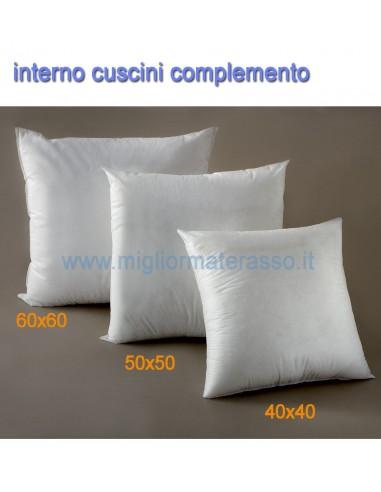 Interno per cuscini darredo 40x40 50x50 60x60 cm varie misure