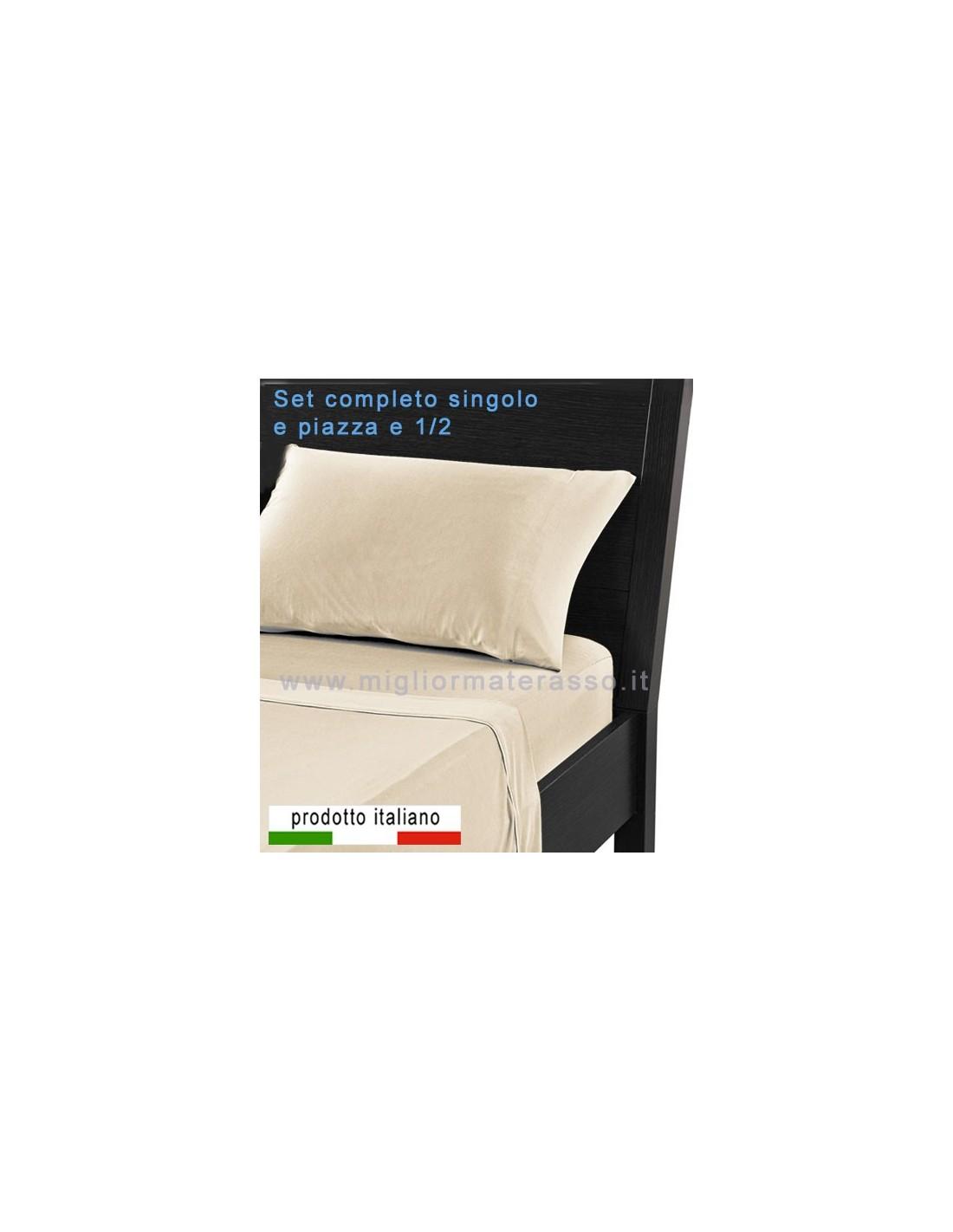 100 cotone Lenzuola letto singolo su misura