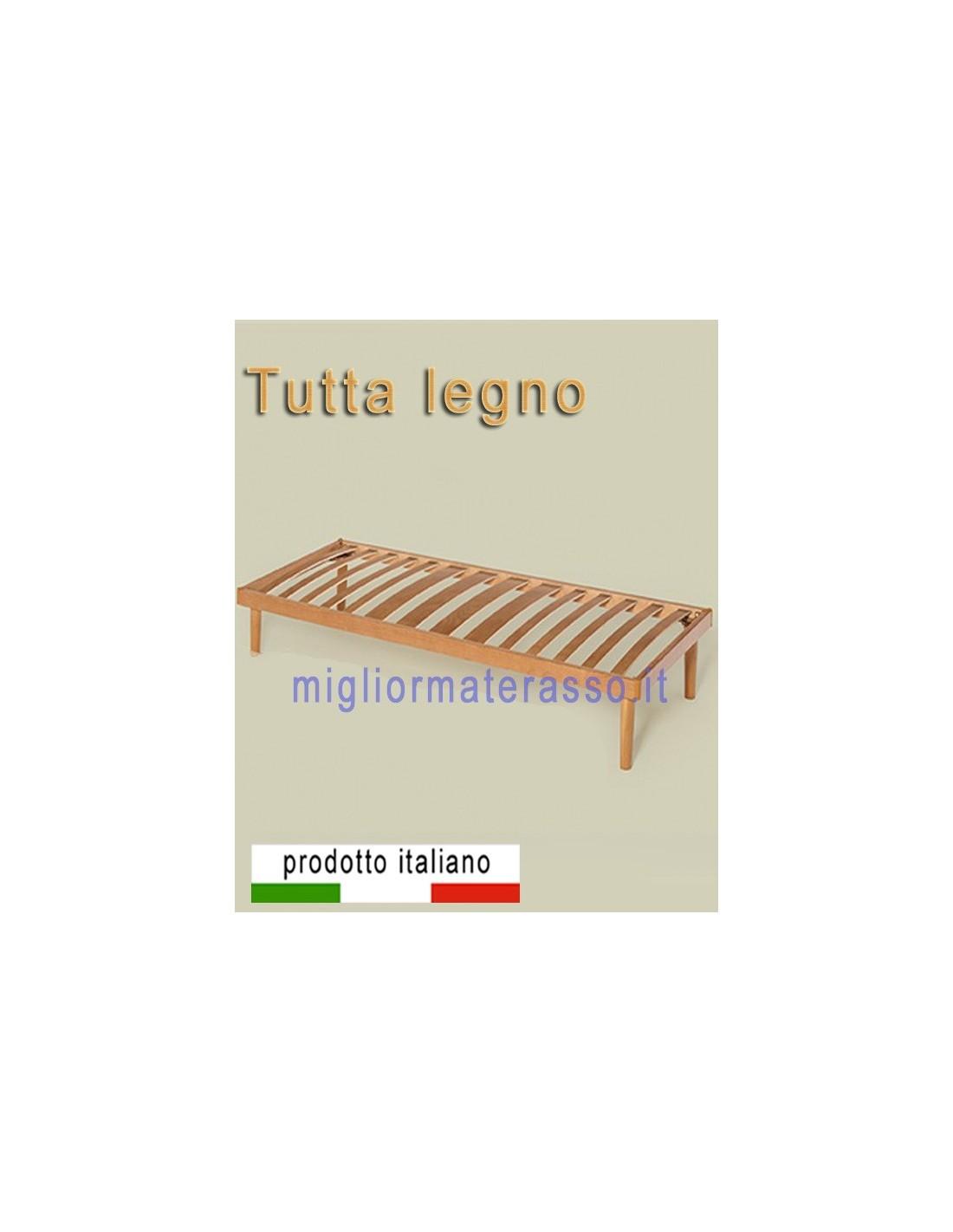 Rete in legno multistrato ortopedica una base a doghe