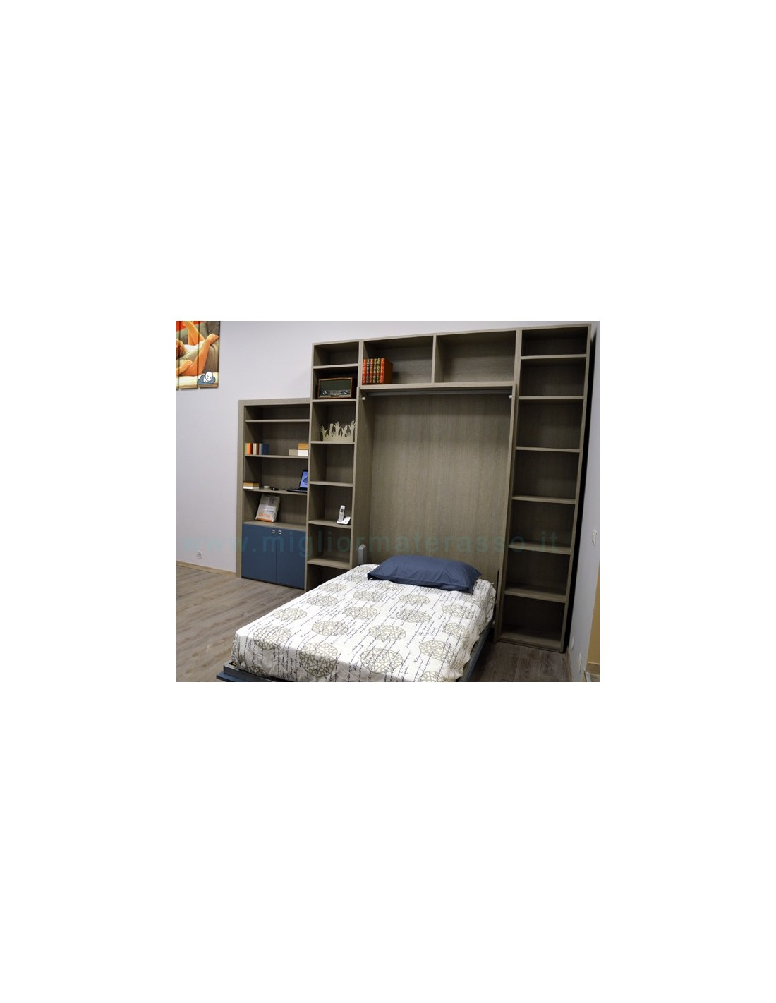 Letto a scomparsa mobile letto con prezzo in offerta in esposizione