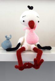 Lucky the stork la cigogne porte-bonheur crochet légende alsace zipzipdreams 12