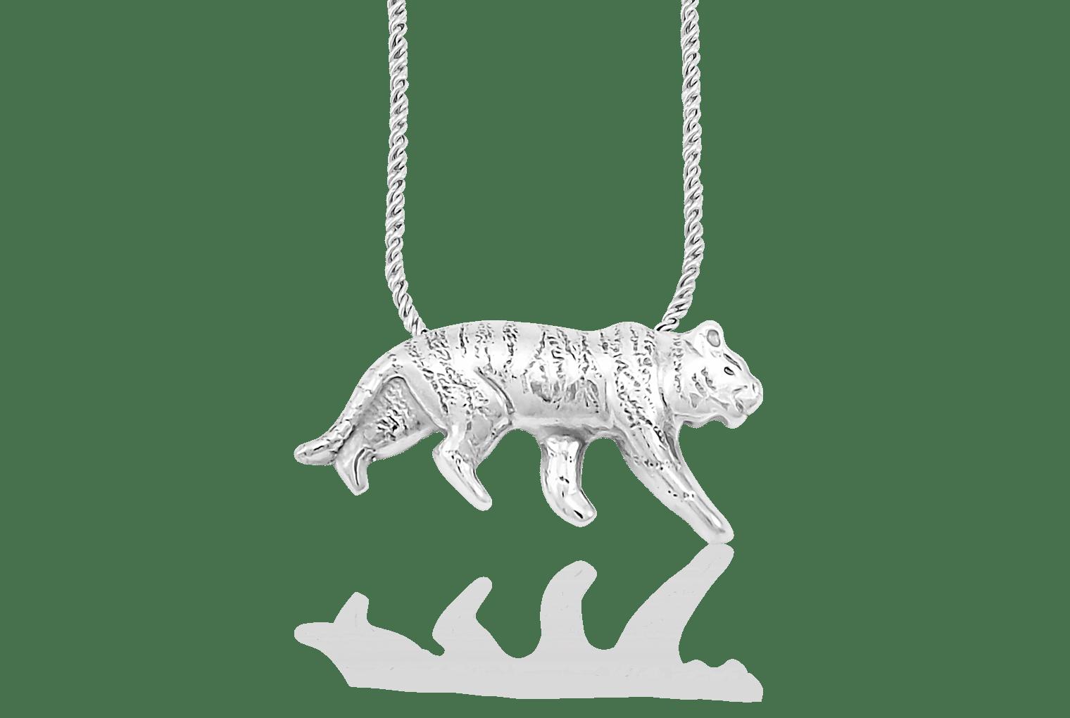 Tiger Pendant: Mignon Faget