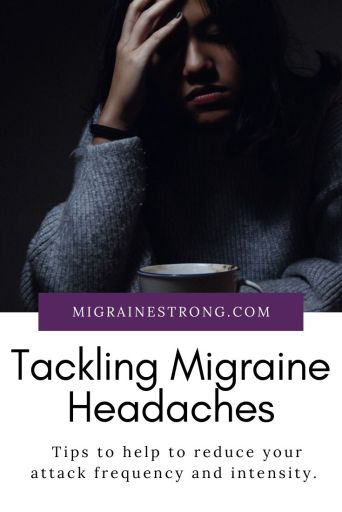 Headaches and migraine attacks of increasing frequency, duration and intensity can be tackled. These tips can help to reduce your attack frequency. #migraine #headaches #headacheremedy #chronicpain