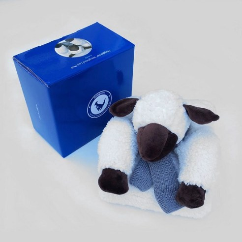 Sheep Huggaroo Weighted Lap Pad