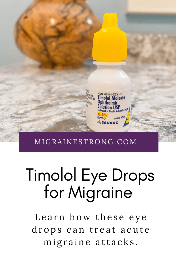 Timolol Eye Drops For Migraine: Is It The Right Abortive for you?