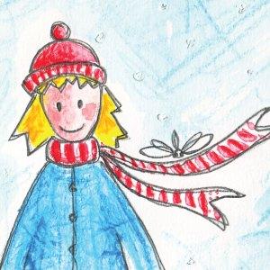Migrate Design Illustration Gugus Girl