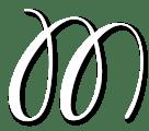 Migrate Design M Logo White
