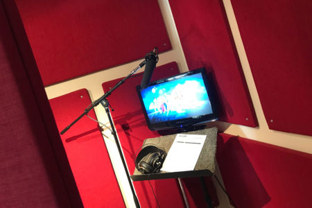 Recording Booth – Dubbing & ADR