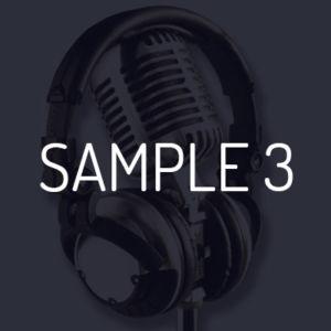 Voice-Over Speed Demo / Fiji Water