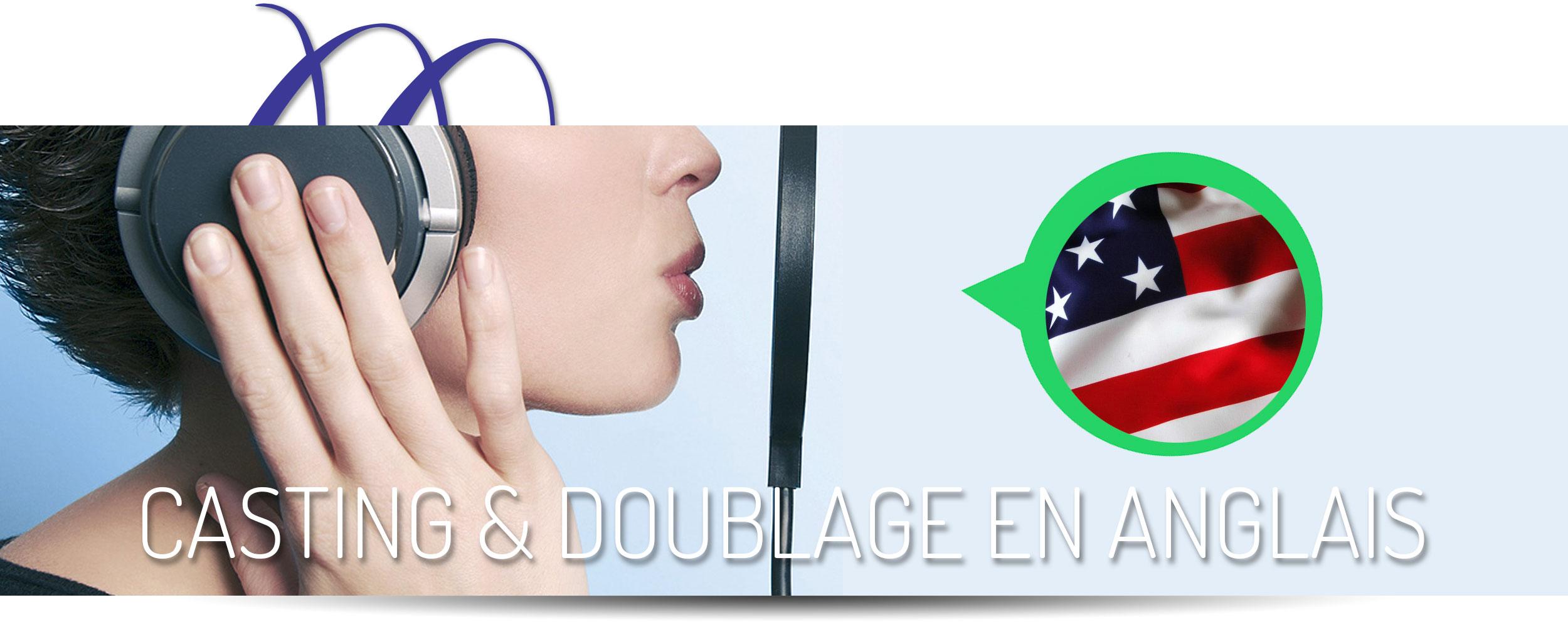 Casting & Doublage Voix Off En Anglais