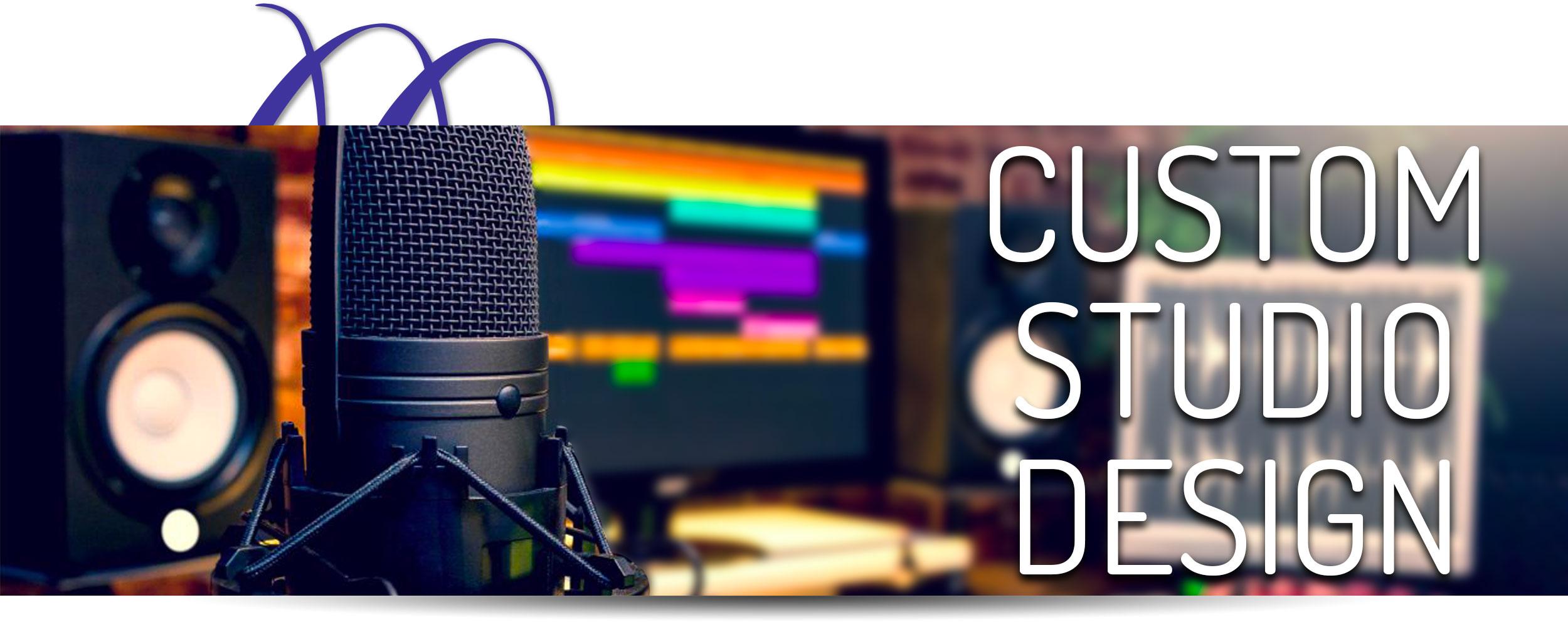 Custom Studio Design For Home Recording Studio