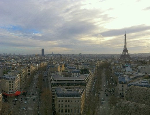 Top Things To Do In Paris - Arc De Triomphe View