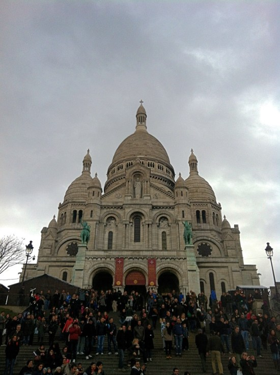 Top Things To Do In Paris - The Sacre-Coeur and Montmartre