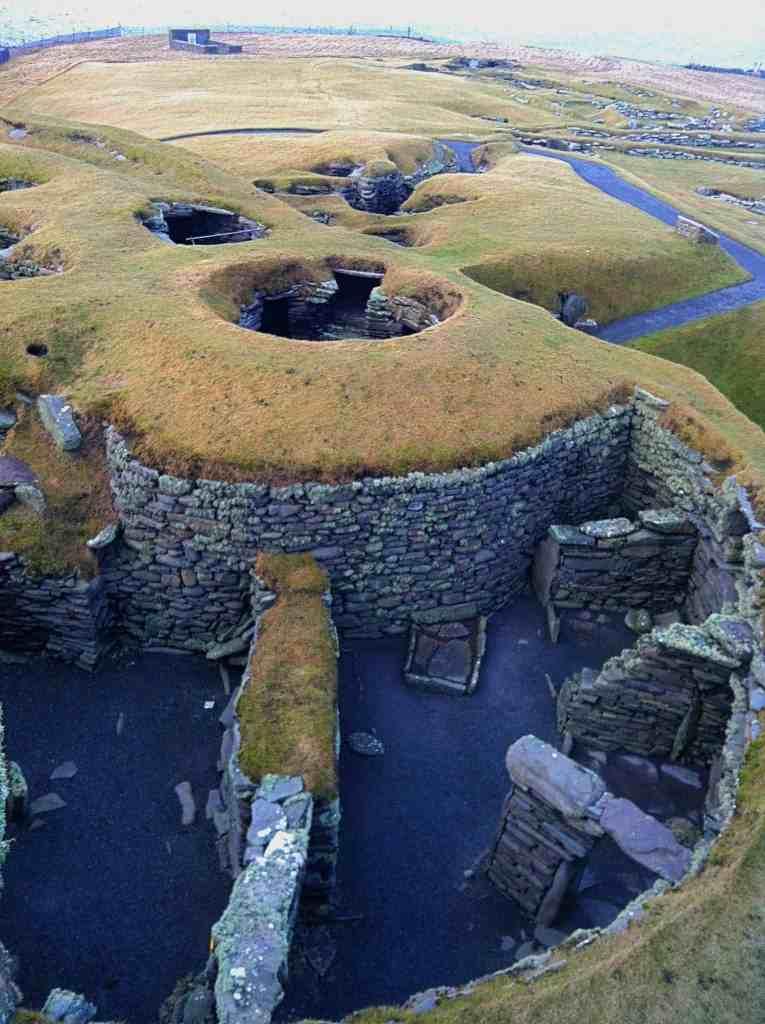 Jarlshof Shetland Pict Historical Site