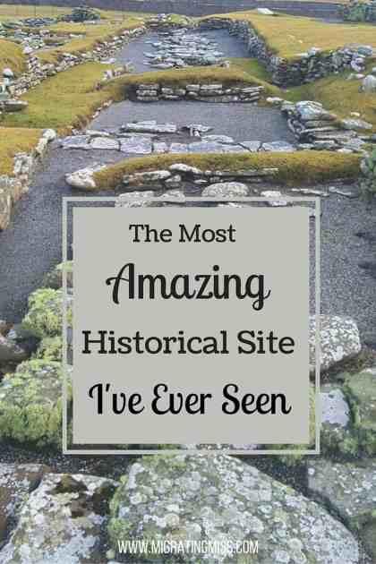 Jarlshof Shetland Historical Site