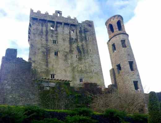 blarney castle kissing the blarney stone cork ireland