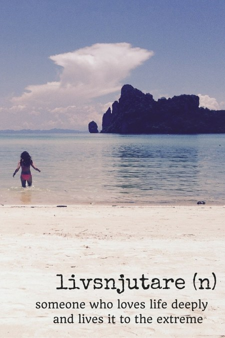 livsnjutare travel words