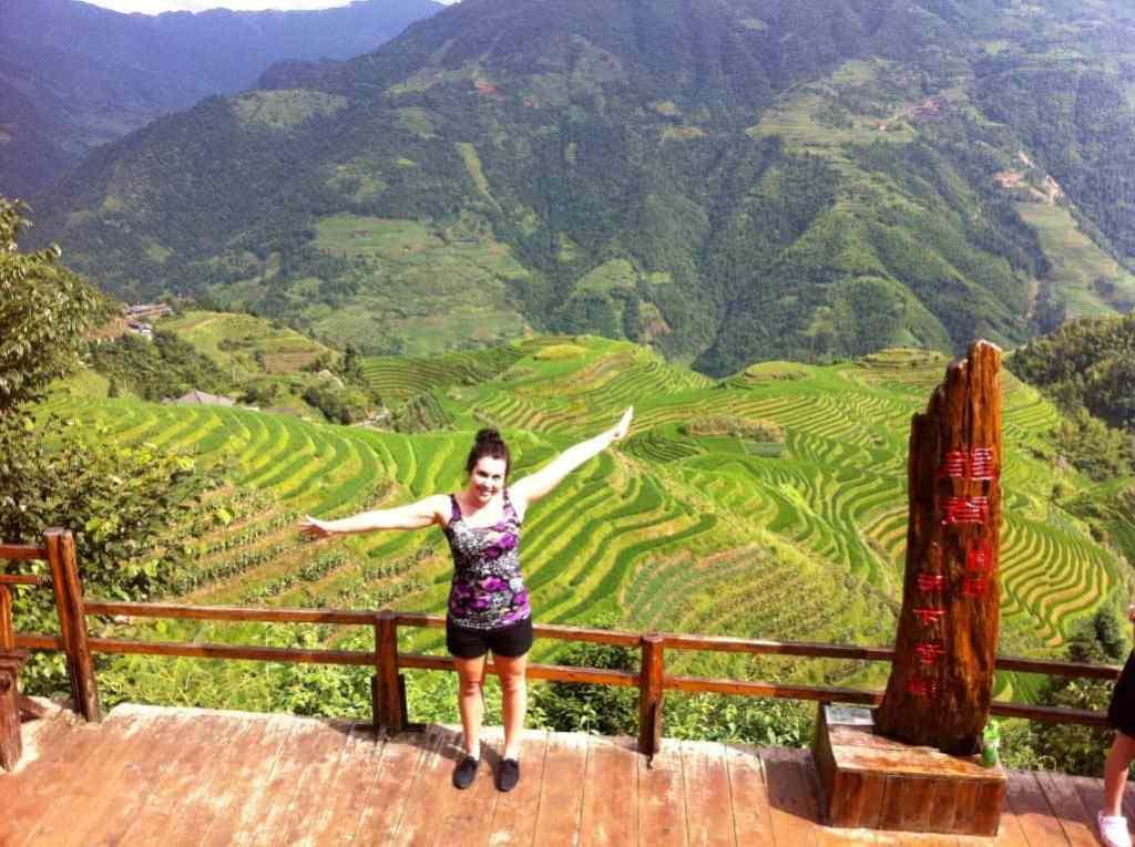 In Ping An China Longji Rice Terraces