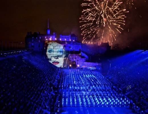 Bowie Edinburgh Tattoo Castle Festival