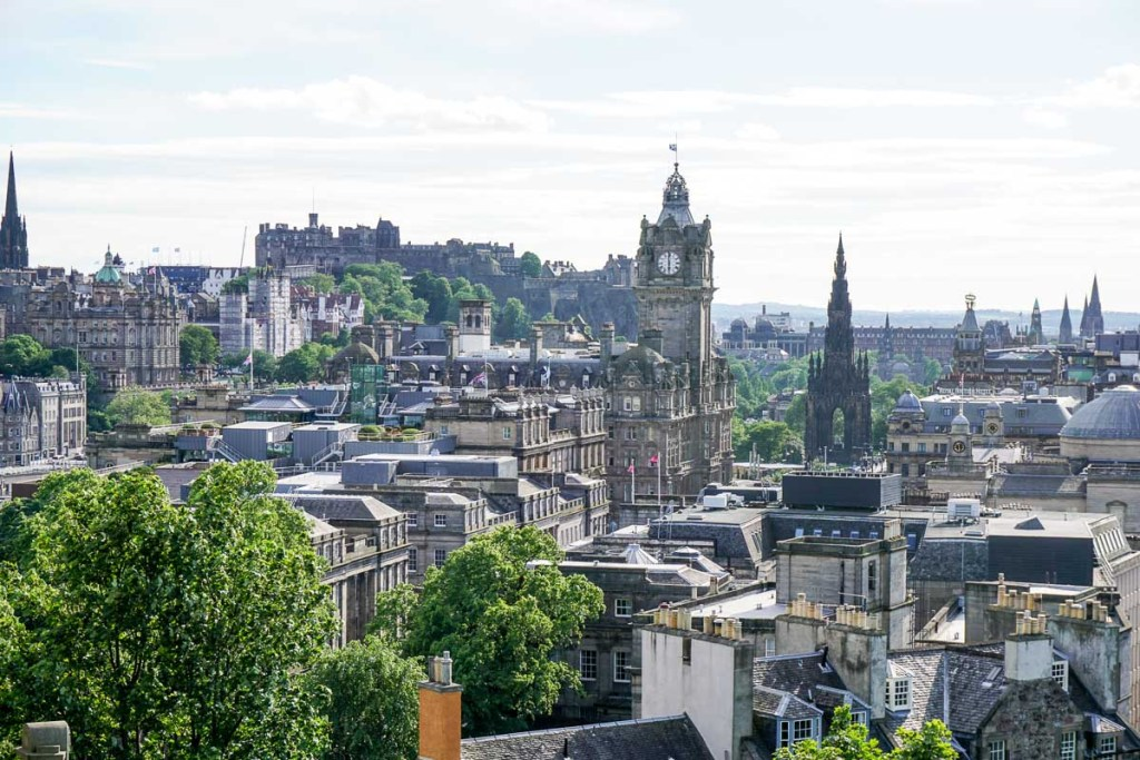 Guide to the Top Harry Potter Locations in Edinburgh + Map