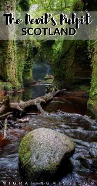 Finding Finnich Glen + The Devil's Pulpit, Scotland's Hidden Gem