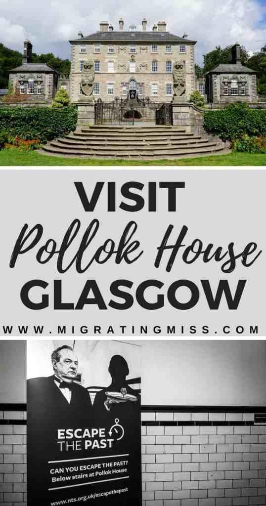 "Visit Pollock House and the 'Escape the Past"" escape room - Glasgow, Scotland"