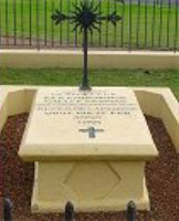 Reçeveur's Grave c.2000. Photograph NSW National Parks and Wildlife Service