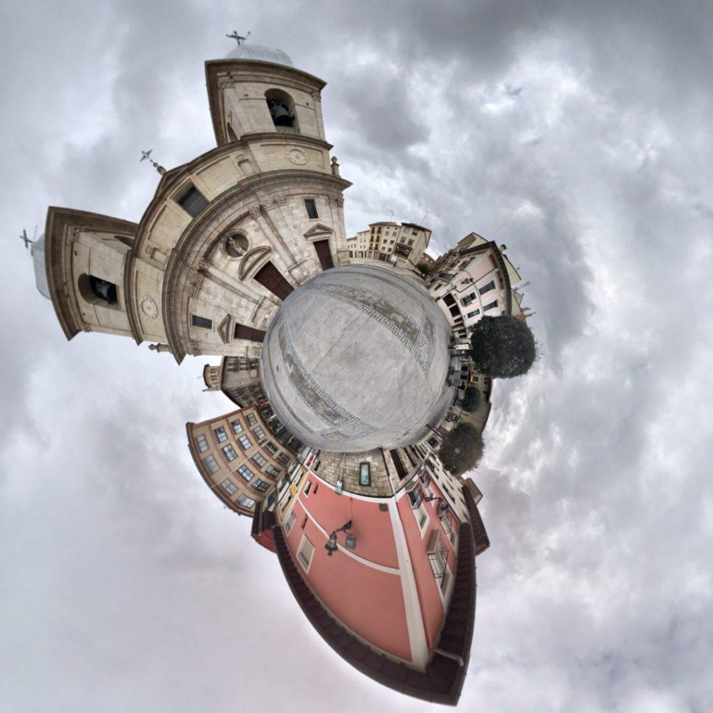 Iglesia de Santa María, Briviesca - Tiny Planet