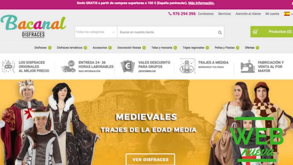 Disfraces Bacanal Web Nueva