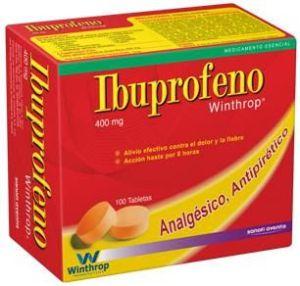 Los fármacos con ibuprofeno (más pseudoefedrina) pueden causar graves daños en la piel