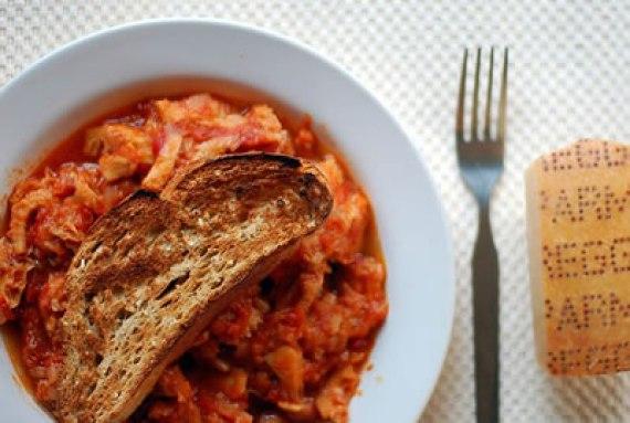 Callos a la Parmesana (Trippe alla parmigiana - Cocina Italiana)