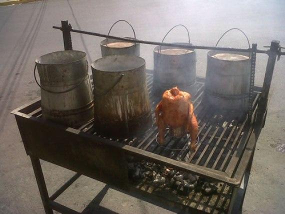 Pollo violado (Cocina Mexicana - Monterrey)