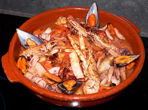 Zarzuela de Pescados y Mariscos