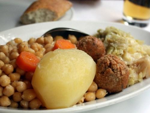 Cocido madrileño con historia - Segundo vuelco
