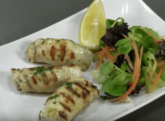Rollos de pez espada (Cocina siciliana - Italia)