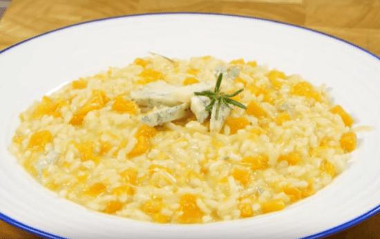 Risotto de calabaza (Cocina italiana)