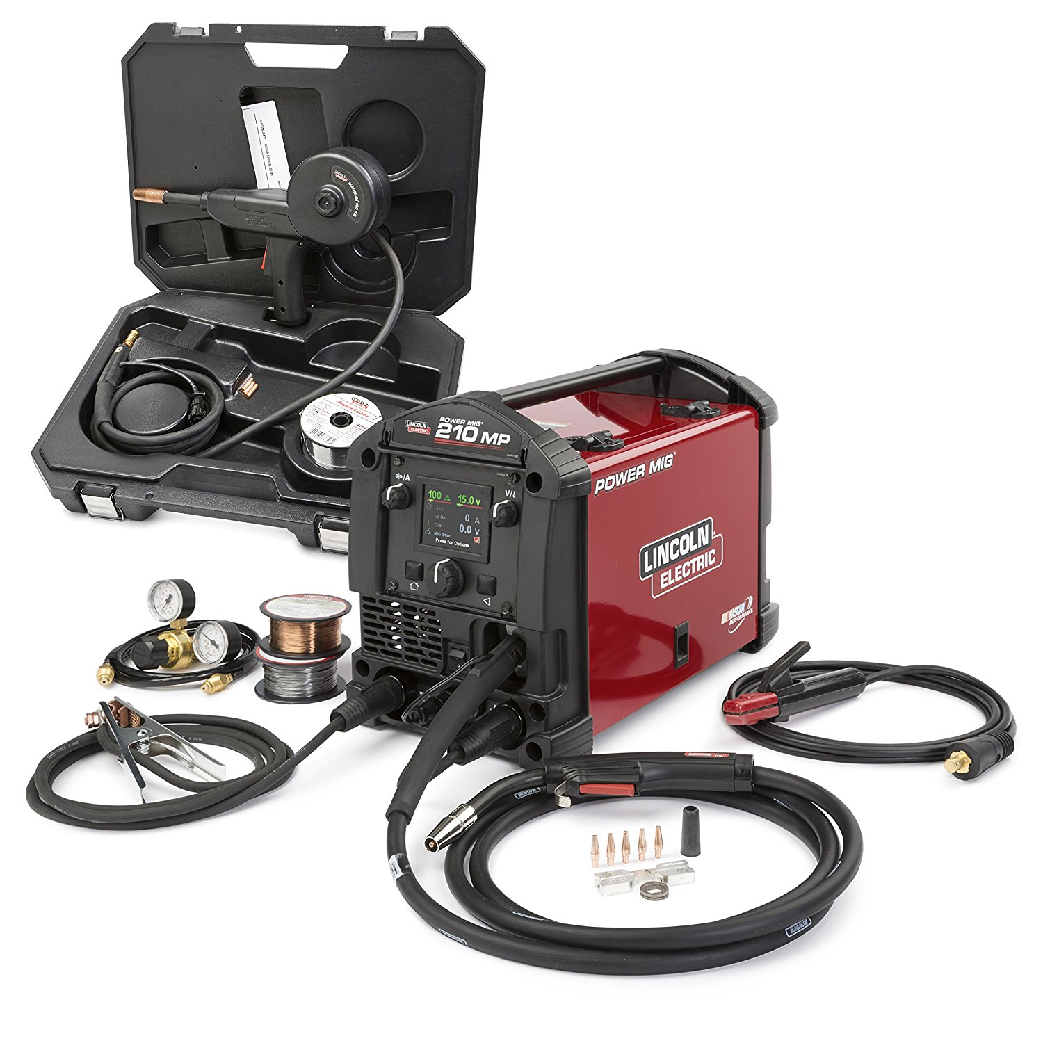 Lincoln Electric POWER MIG 210 MP Multi-Process Welder Aluminum