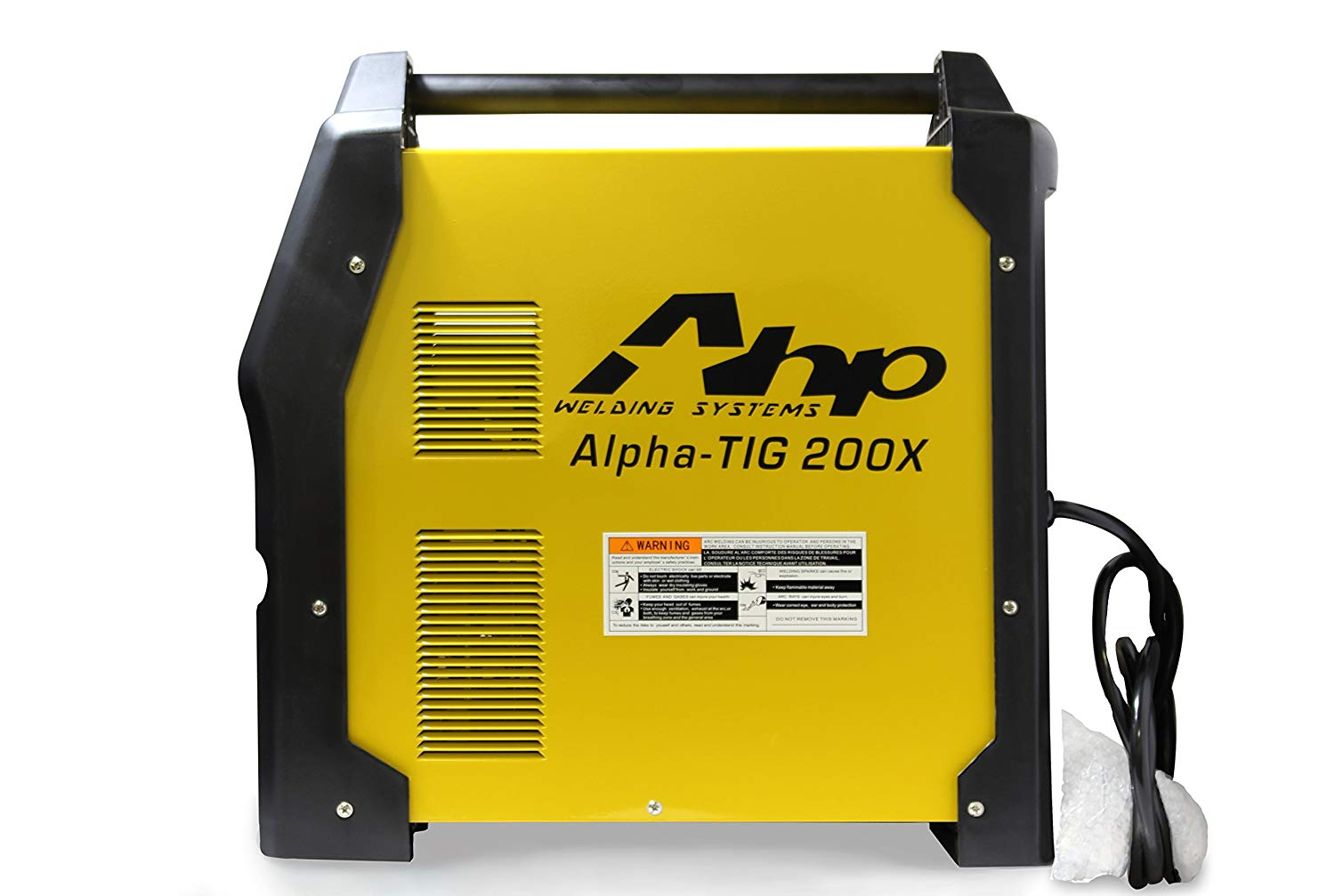 2018 AHP AlphaTIG 200 X 200 Amp IGBT AC DC Tig-Stick Welder with PULSE 110v 220v 3 YEARS WARRANTY