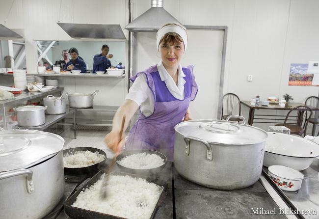 Food preparation at the Vityaz-Avto plant
