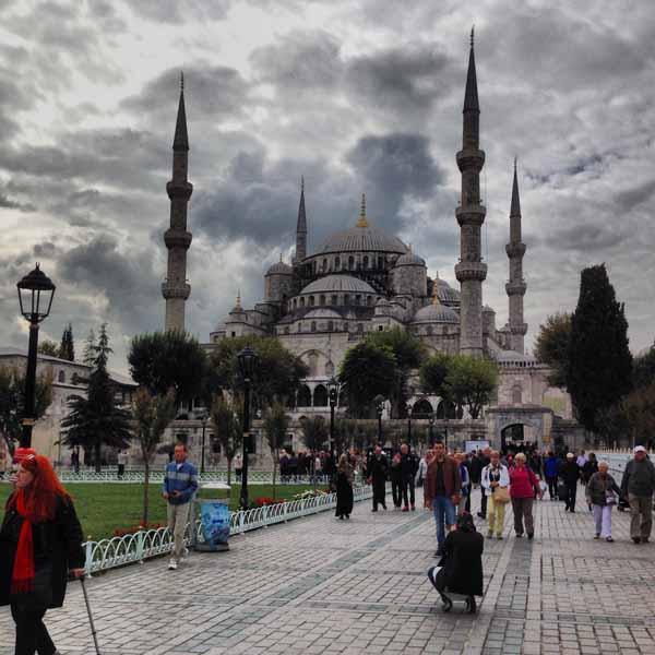 Ja vielä Sininen moskeija.