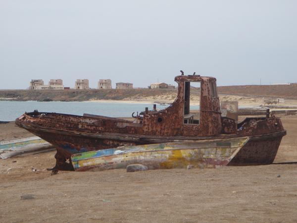 Hieman ruostunut vene. :)