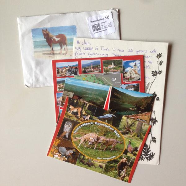 Tällainen posti.