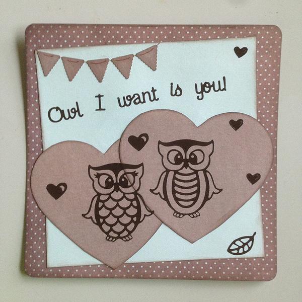 Tein omalle ukkelille vähän erilaisen isänpäiväkortin, tollasen rakkauskortin. :)