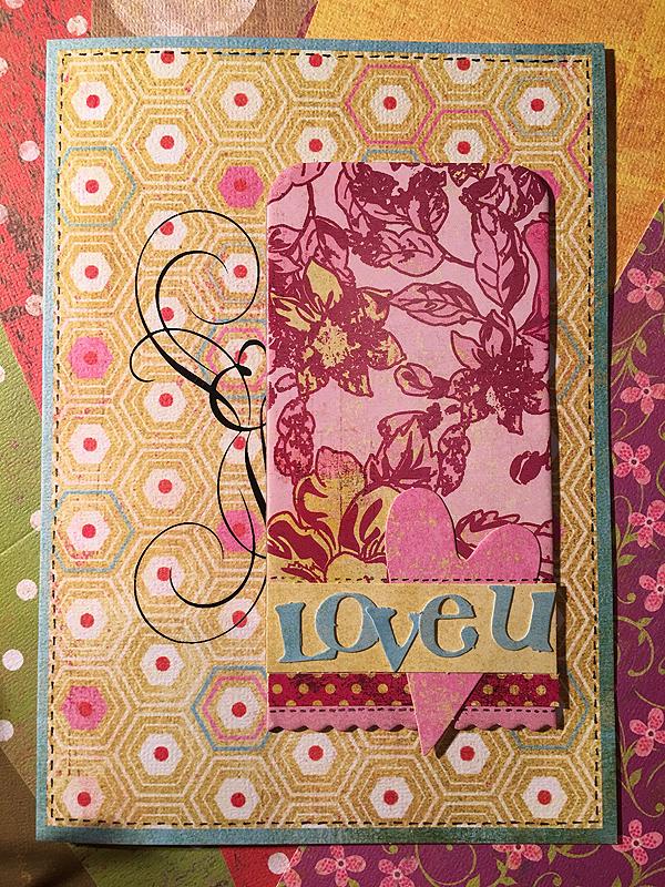 Aviomies-isi sai romantillisen kortin. :)