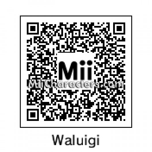 QR Code for Waluigi by ThinkBullet