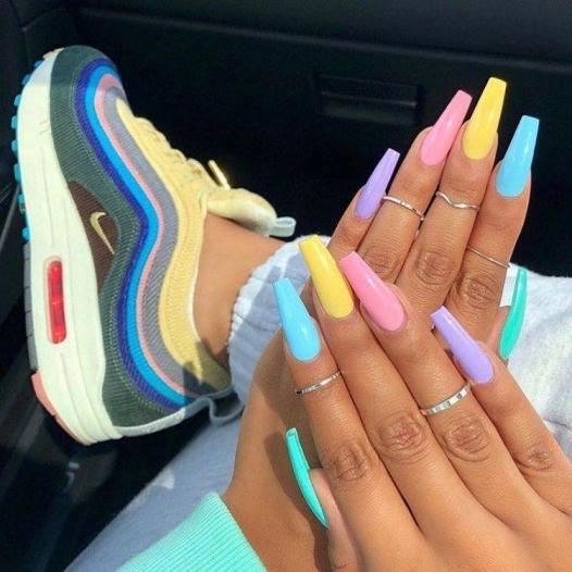 Decisions, Decisions - Pin Inspired - Pretty and Pressed Nails
