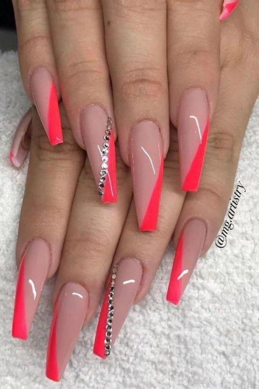Glow Stones Coffin - Pin Inspired - Pretty and Pressed Nails